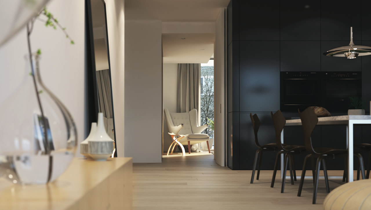Contemporary interior palette